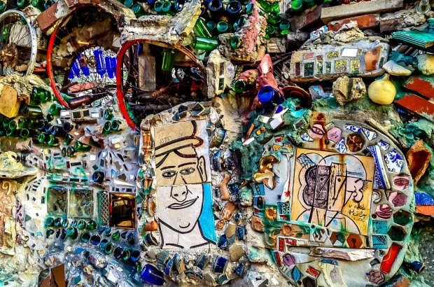 Mosaic at Philadelphia's Magic Gardens