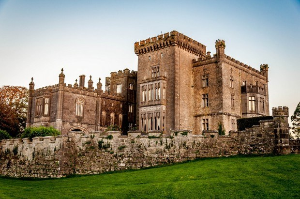 Front of Markree Castle, one of the castle hotels in Ireland