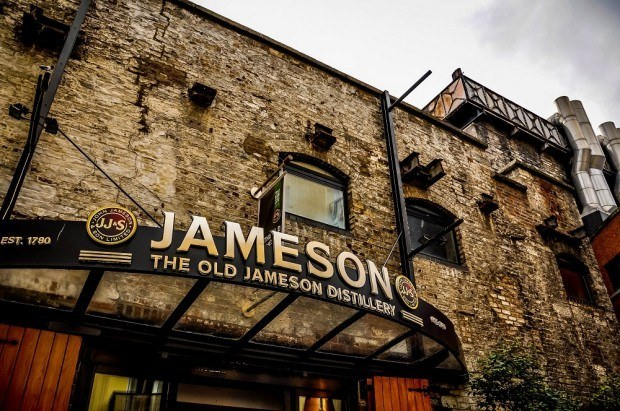 Stop into the Jameson Distillery during your Dublin travel