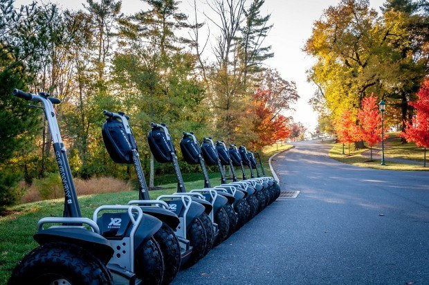 A Segway tour of the grounds of the Hershey Hotel is a really fun things to do in Hershey, Pennsylvania