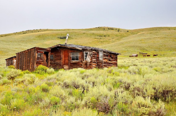 Abandoned Farm Buildings Outside of Steamboat Springs