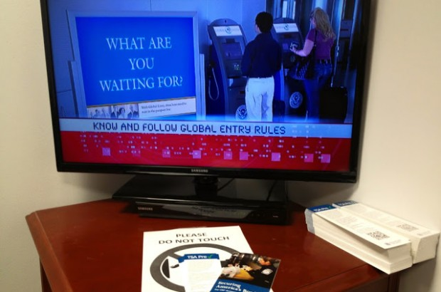 The Video at the Global Entry Interview