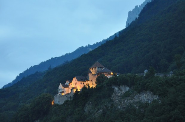 Vaduz Castle at Night