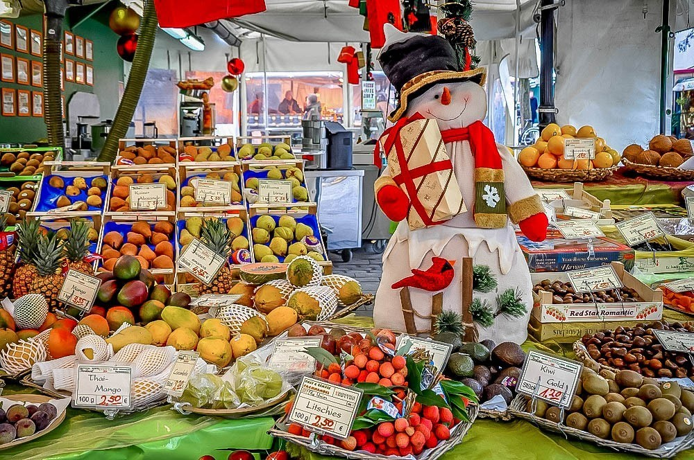 Winter fruit in Munich