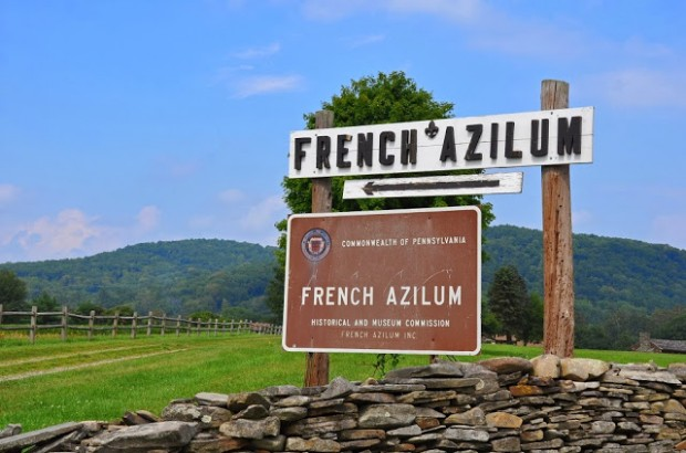 The French Azilum in Rural Pennsylvania - a planned community for refugees from the French Revolution