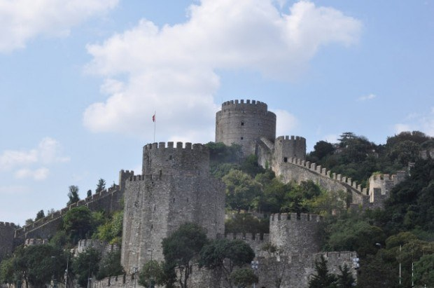 Bosphorus Turkey:  The Rumeli Fortress on the Bosphorus, Istanbul