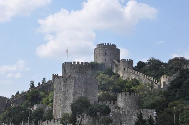 Bosphorus Turkey:  The Rumeli Fortress on the Bosphorus, Istanbul