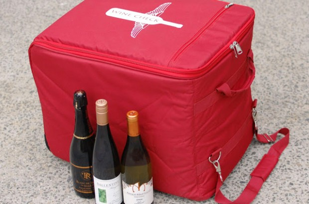 The Wine Check Carrier
