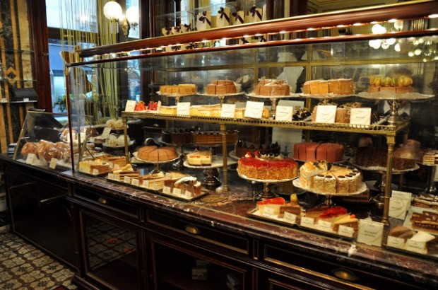 The Pastry Case at Café Demel