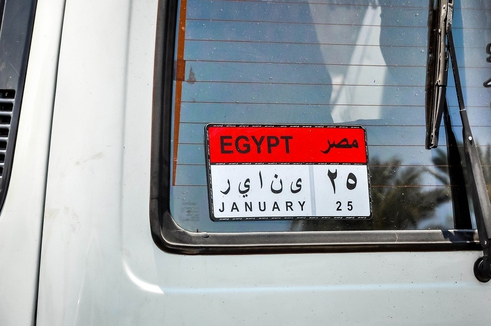 """January 25"" bumper sticker"
