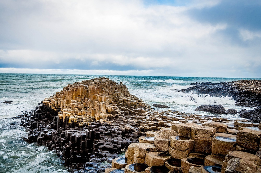 Giant's Causeway is amazing, even on a rainy day