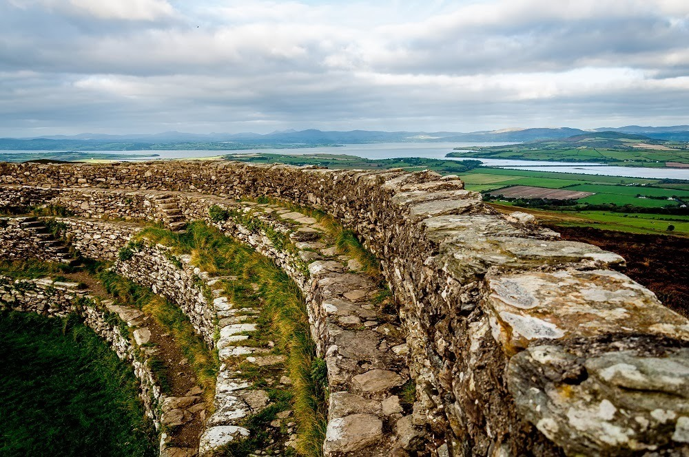 Grianan Aileach in County Donegal, some of Ireland's ancient Celtic ruins