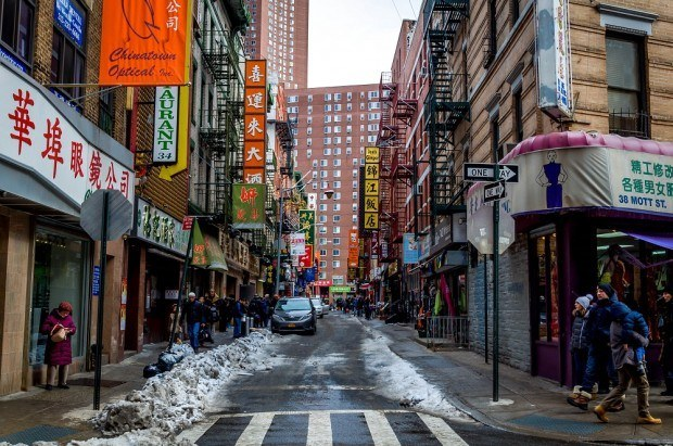 Exploring Chinatown on a New York food tour
