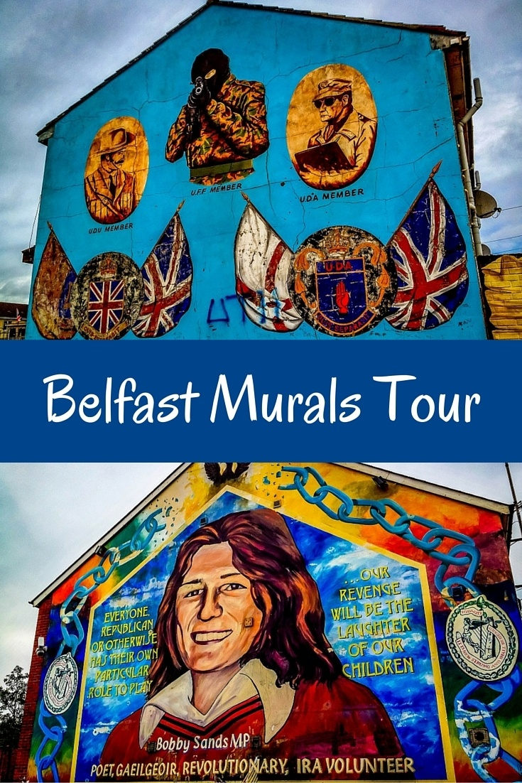 The murals in Belfast, Northern Ireland, stand as monuments to the Troubles. These colorful, political pieces of art show the depth of the conflict between Loyalists and Republicans.