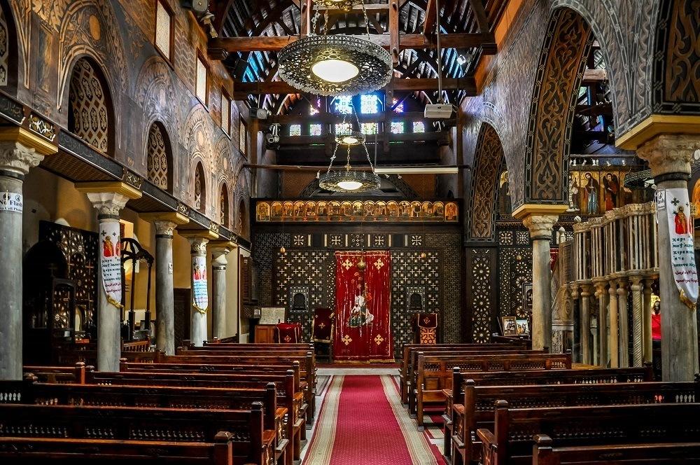 Saints Serguis and Bacchus Church in Cairo, Egypt