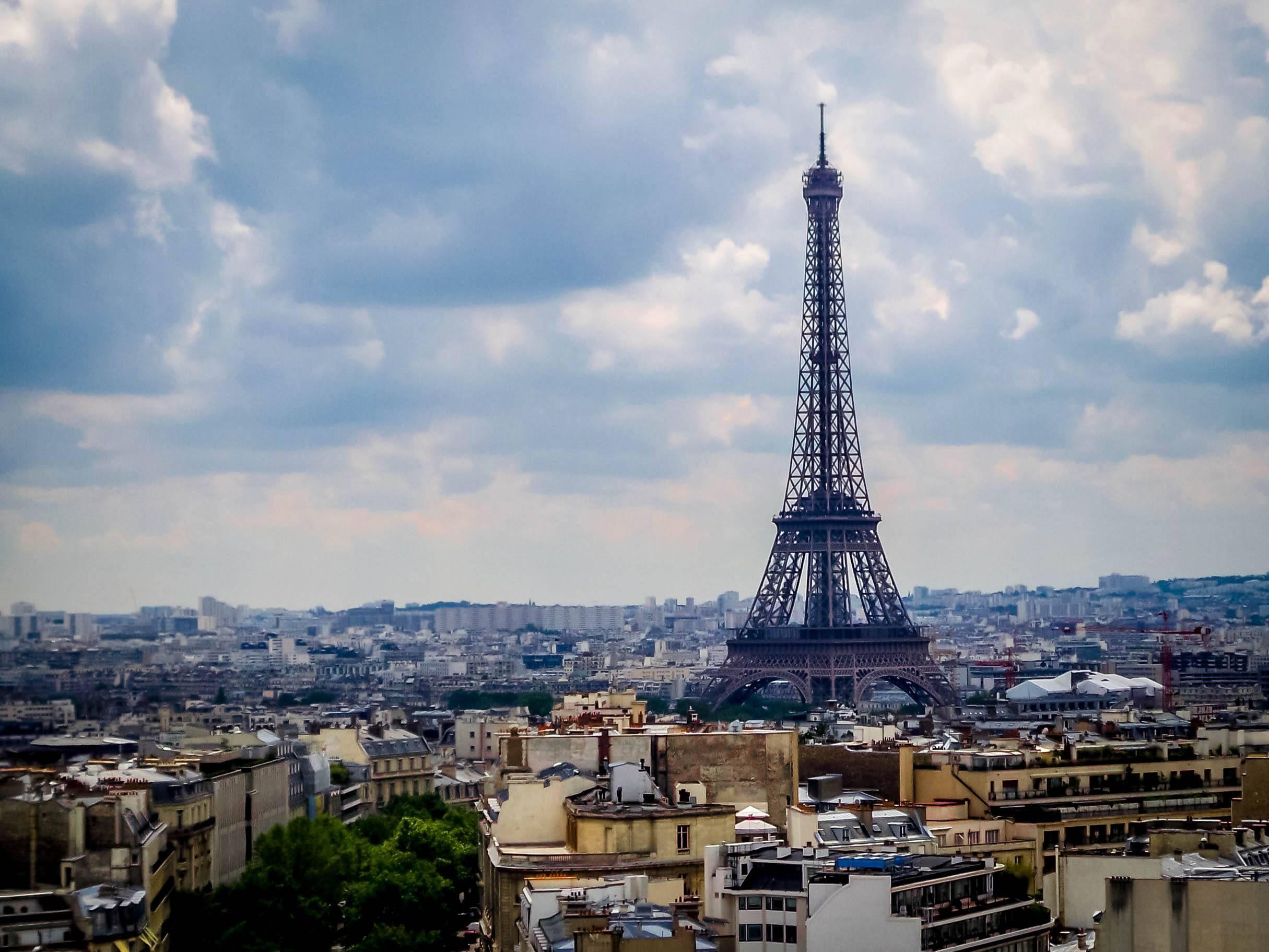 The Eiffel Tower in Paris