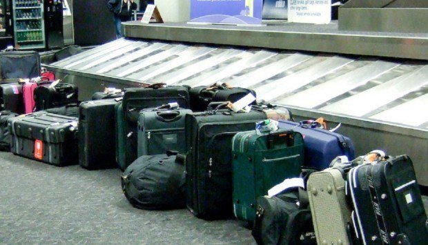 A top travel mishap:  luggage delays