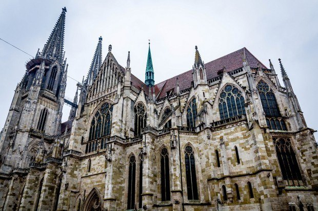 One of the top things to do in Regensburg, Germany is visit St. Peter's Cathedral - a Gothic masterpiece.