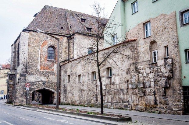 Regensburg, Germany was a Roman military outpost and the remnants of that past can still be seen today.