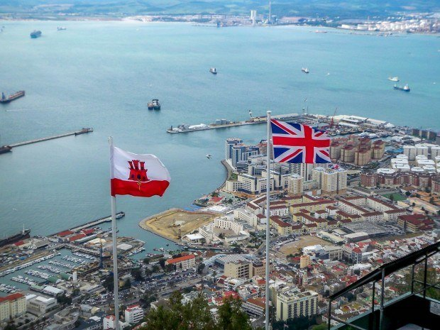 Gibraltar -  A little bit of the British Empire on the continent.