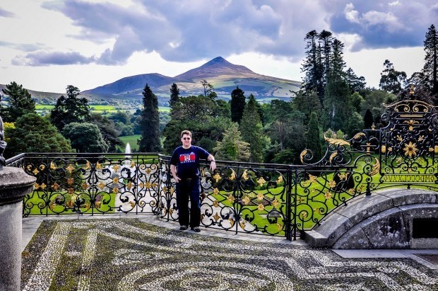 Lance at the Powerscourt Estate