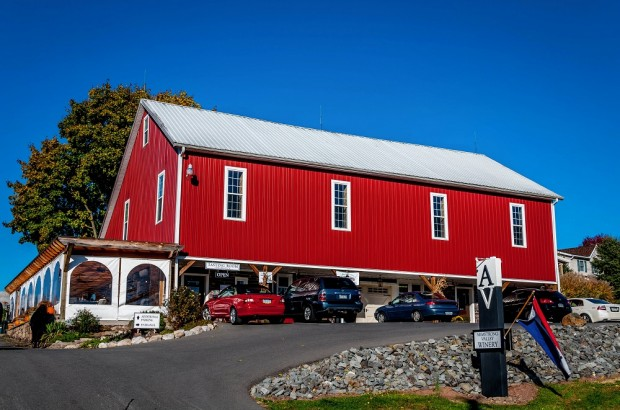 One of the wineries in Central PA.