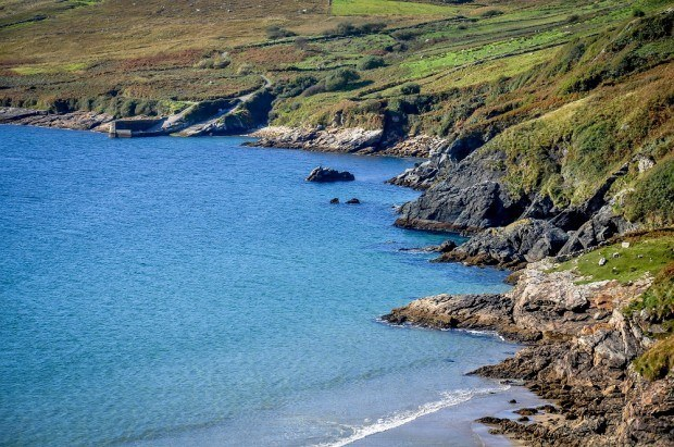 The Donegal coastline along the Wild Atlantic Way