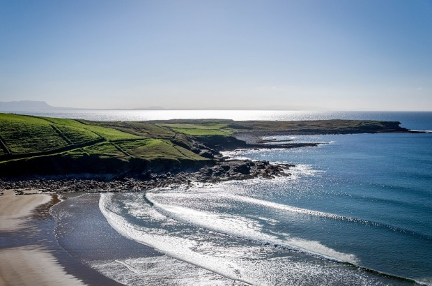 Ireland's Wild Atlantic Way in Donegal - the world's longest coastal touring route covering over 1,700 from Derry to Kinsale along Ireland's western coast.