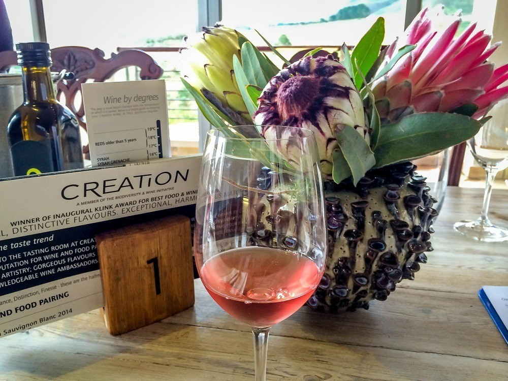 The distinctively elegant wines from Creation Wines outside of Hermanus, South Africa.