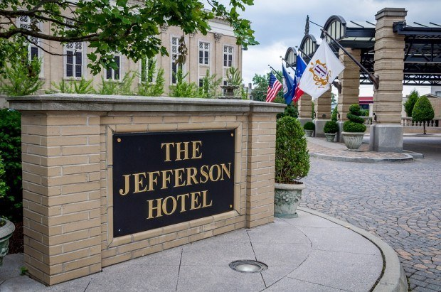 The Jefferson Hotel in Richmond, Virginia.