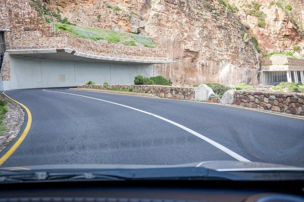 Chapman's Peak Drive on the Cape Point Route