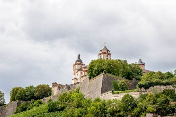 Explore the Wurzburg Castle Complex:  Experience the Marienberg Fortress above the Main River and the city of Wurzburg, Germany.