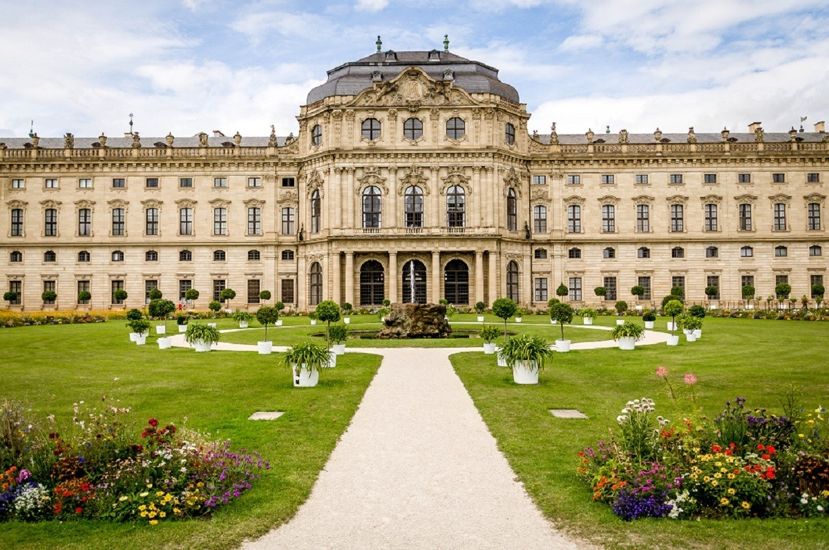 Germany Wurzburg photos: The highlight of a Wurzburg walking tour is a visit to The Residenz Wurzburg - a UNESCO World Heritage Site. The Residenz is #1 on the list of the top things to do in Wurzburg Germany and is the top landmark in the city.
