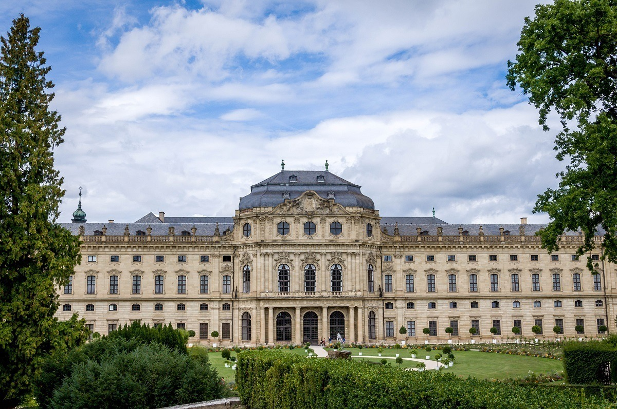 Wurzburg's Royal Residenz:  The Wurzburg Residenz Palace is one of the most beautiful palaces in Europe.