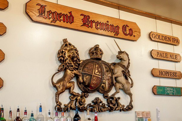 The granddaddy of Richmond brewers:  Legend Brewing Company.  This was a highlight of our Richmond brewery tours.