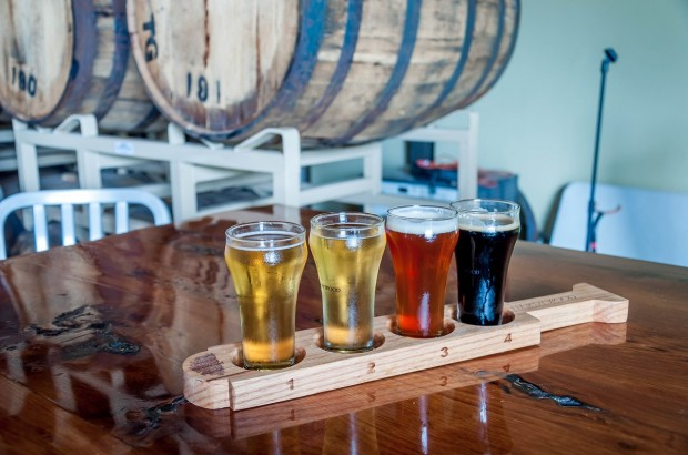 A beer tasting at Hardywood Park in Richmond, Virginia.