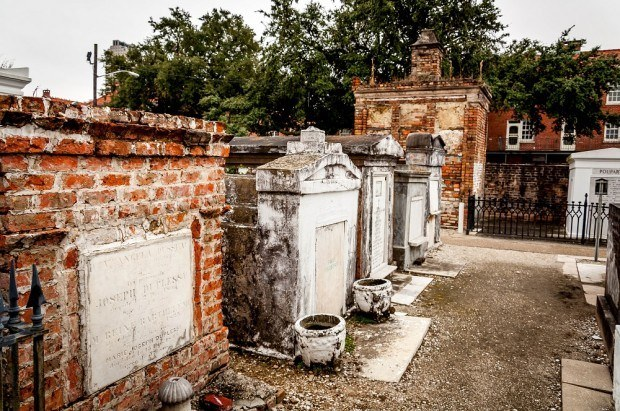 The peace and beauty of cemeteries in New Orleans.