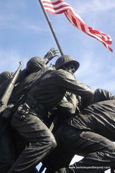 Washington D.C.-Iwo Jima Memorial-Dad's funeral-close up 2-c2005 Carole Terwilliger Meyers-best-600pix