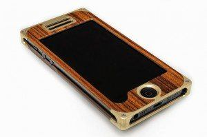 2014 Holiday Gift Guide Travel Selection:  The EXOvault Pau Ferro iPhone cover.