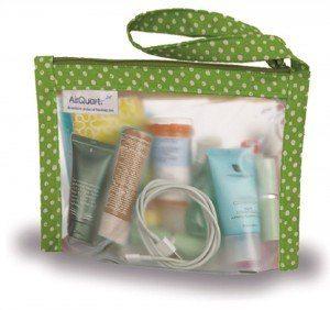 2014 Holiday Gift Guide Travel Selection:  The AirQuart designer TSA-compliant 3-1-1 bag.