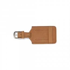 The 2014 Holiday Gift Guide for Travelers:  The Saddleback Luggage Tag.