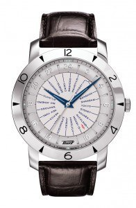 2014 Holiday Gift Guide Travel Selection:  The Tissot Heritage Navigator.