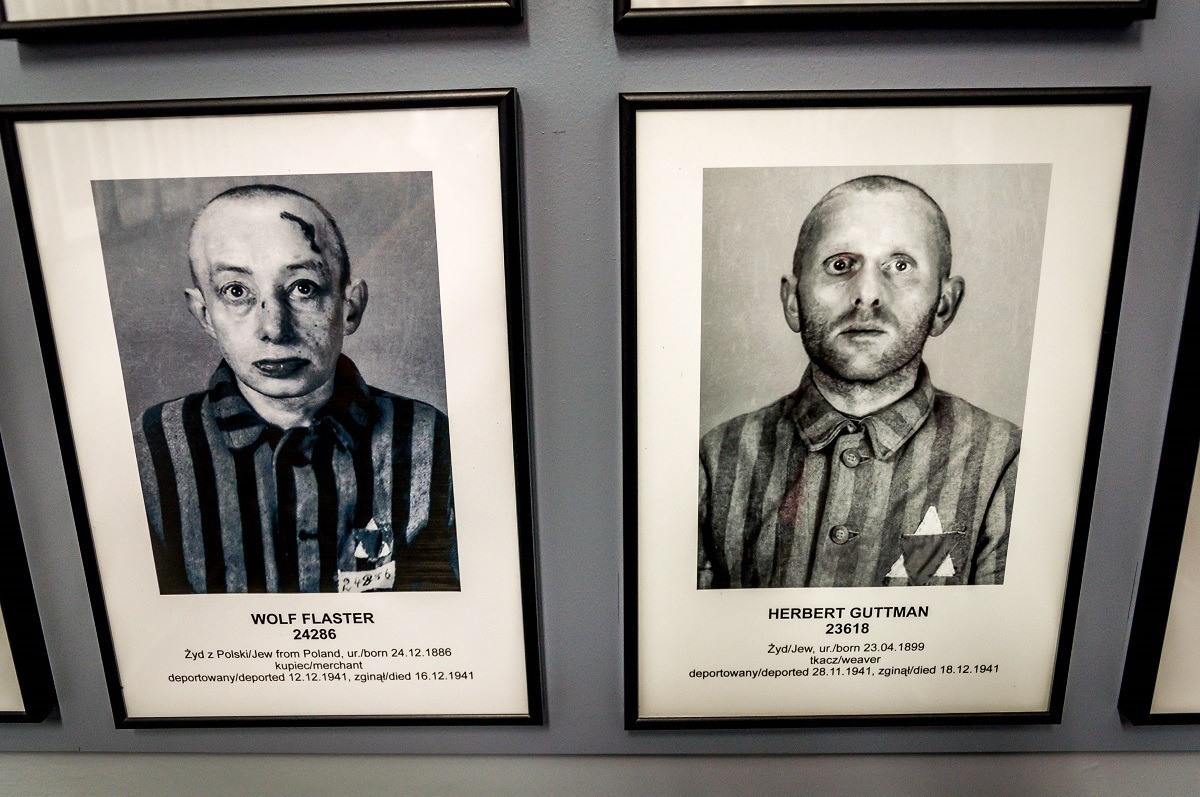 Profiles of of the victims of the Holocaust