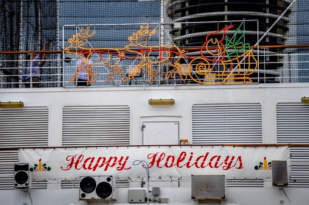 Happy Holidays from Laura and Lance at the Travel Addicts!