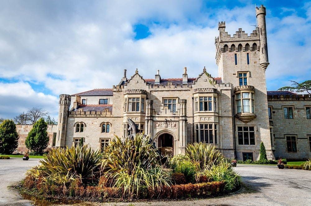 Our stop at the Solis Lough Eske Castle in Donegal was a highlight of our road trip around Ireland.