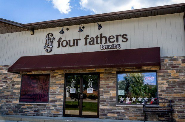 One of the newest Northwest Indiana breweries:  Four Fathers Brewery in Valparaiso.
