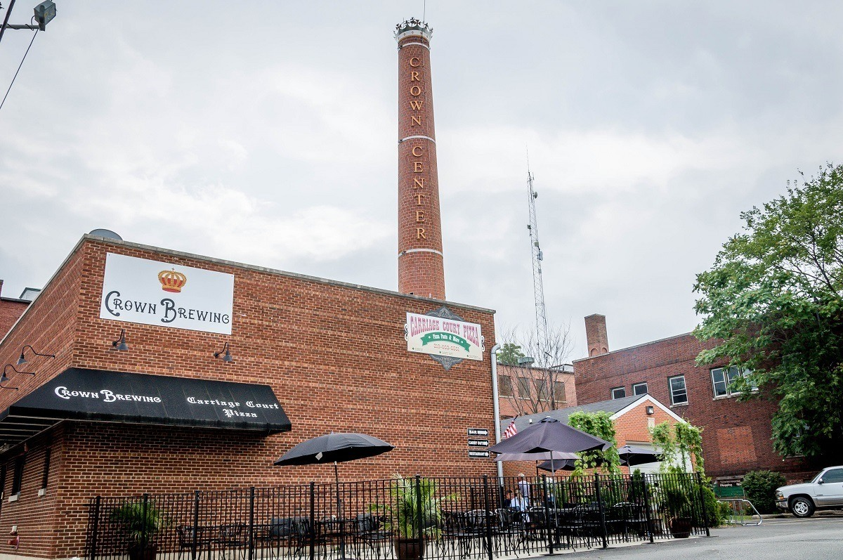 Crown Brewery, a popular brewery on the South Shore Brewery Trail in Northwest Indiana