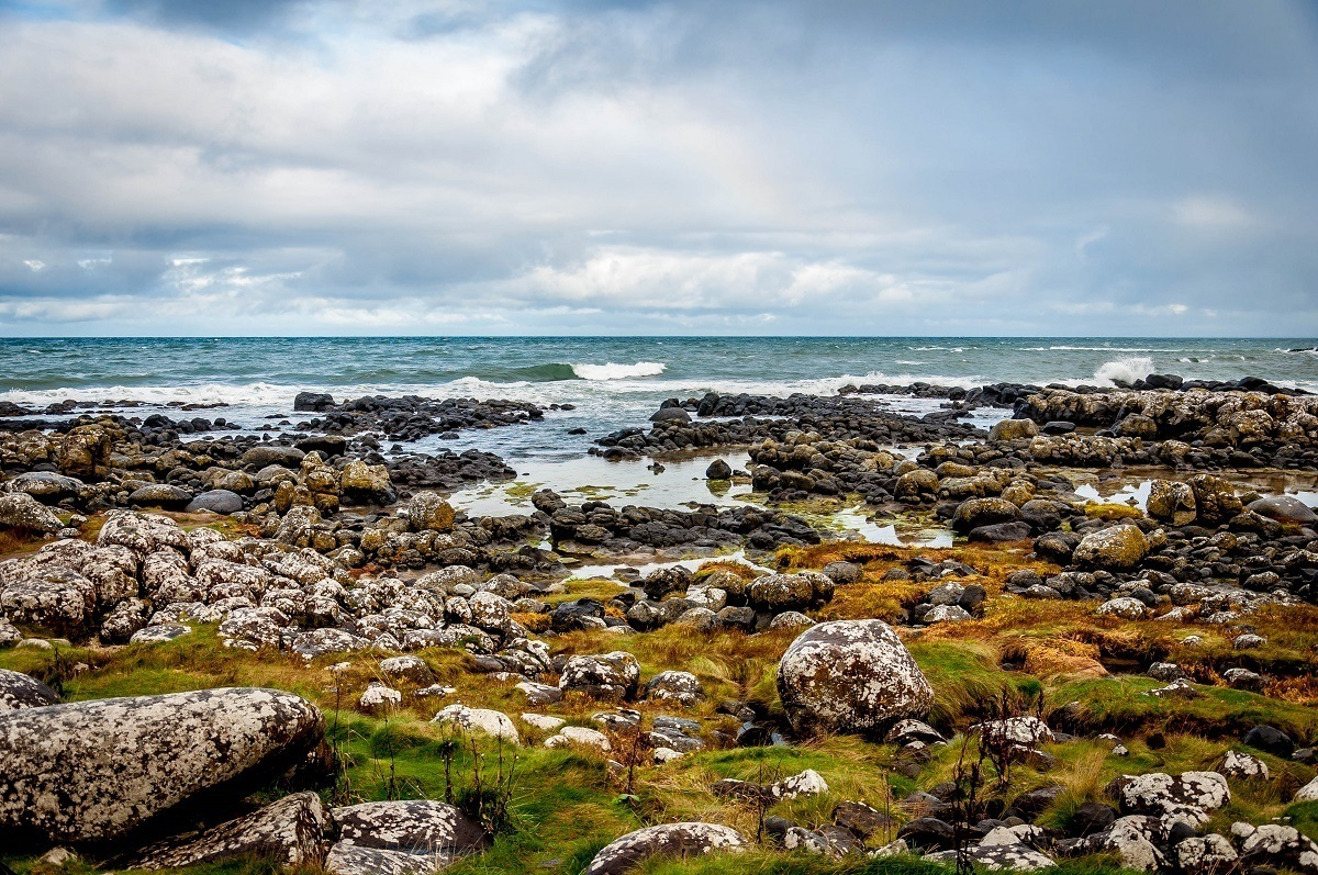 The Causeway Coastal Route explores the rough (but beautiful) Antrim Coast.  For many visitors, seeing the rugged Northern Ireland coast is one of the best Antrim things to do.