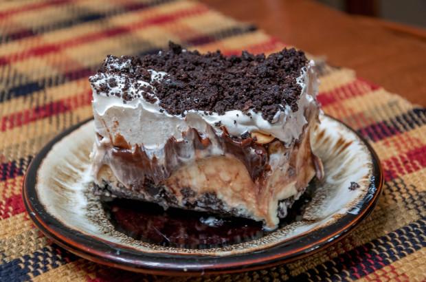 The Buster Bar dessert.