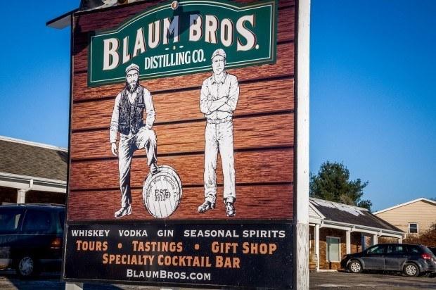 Blaum Bros Distilling Co in Galena, Illinois.